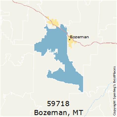 bozeman mt map bozeman montana zip code map zip code map
