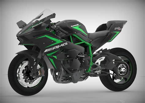 Motorrad Kawasaki Ninja H2r by 3d Model Kawasaki Ninja H2r Turbosquid 1226855