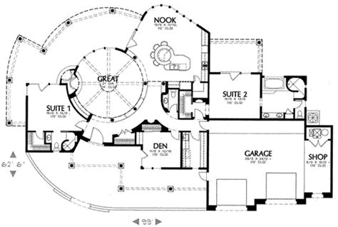 adobe style home plans adobe southwestern style house plan 2 beds 2 5 baths
