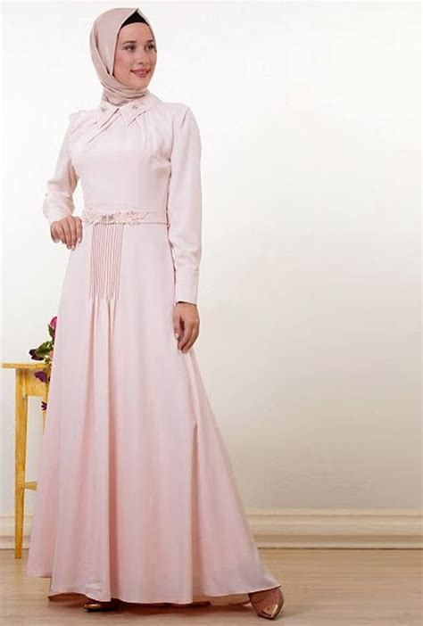 Gamis Pesta 2019 18 model baju gamis brokat terbaru 2019 untuk pesta elegan