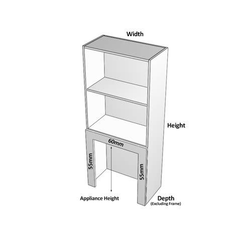 appliance cabinet roller door painted appliance cabinet 1 door hinged left frame