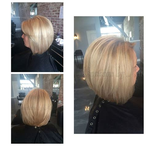 stacked swing bob haircut pictures 17 best images about hair on pinterest cool blonde