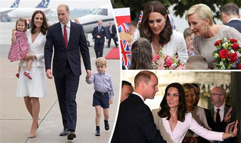 where do william and kate live kate and william pictures charlotte and george run on