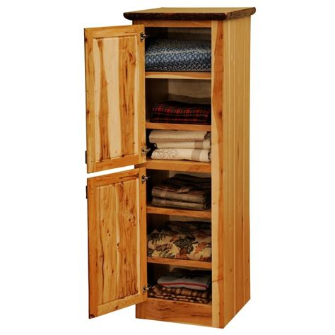 hickory bathroom cabinets hickory linen cabinet