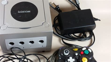 gamecube console nintendo silver grey gamecube console bundle and 8 similar