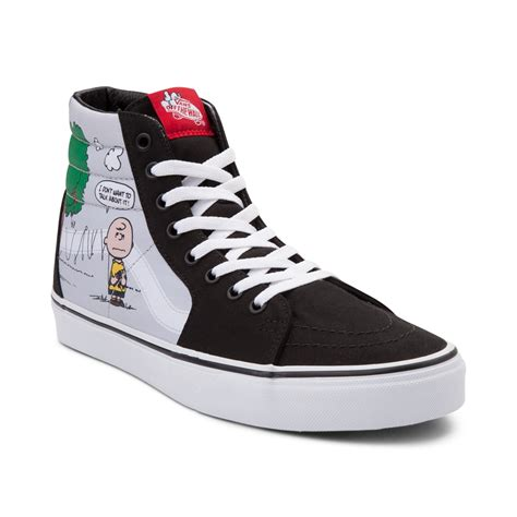 Sepatu Vans Sk8 Peanuts vans sk8 hi peanuts kite skate shoe gray 497088