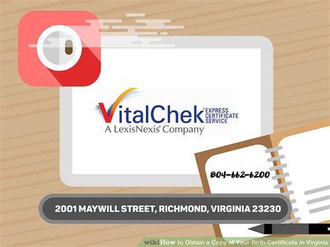 Richmond Va Birth Records 4 Ways To Obtain A Copy Of Your Birth Certificate In Virginia