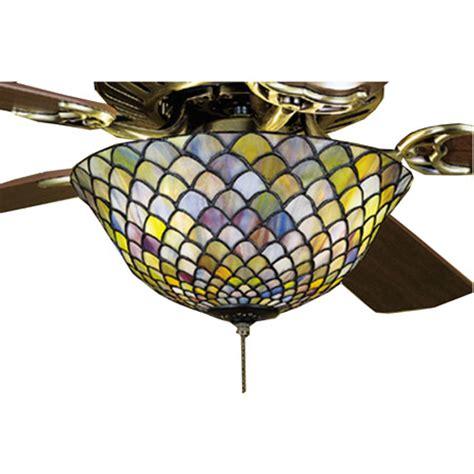 meyda tiffany ceiling fan light kit meyda 27451 tiffany fishscale fan light fixture