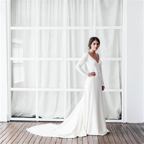 Simple Wedding Dresses Uk simple wedding dresses for modern brides hitched co uk