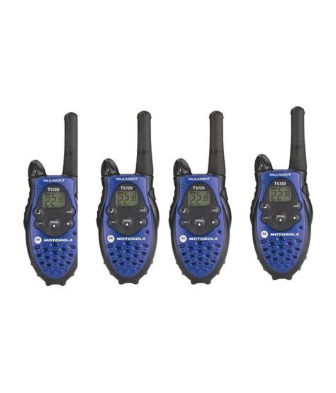 Walkie Talkie Wt Motorola T5720 4 way motorola 5 walkie talkie all sets caliberated price in india buy 4 way motorola