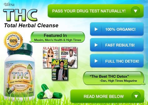 Detox Pills For Test by Best Way To Get Marijuana Out Of Your System Fast To Pass