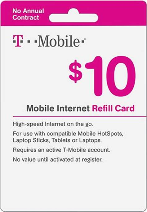 Refill Visa Gift Card Online - 10 t mobile wireless airtime refill card giftcardshunters com