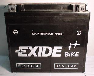 Motorradbatterie Pluspol by Motorradbatterie 12v 18 Ah C20 Batterie Ecke