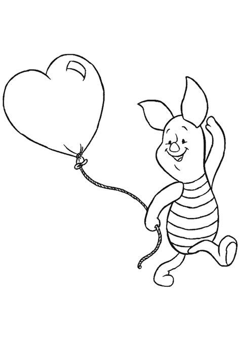 piglet coloring pages to download and print for free