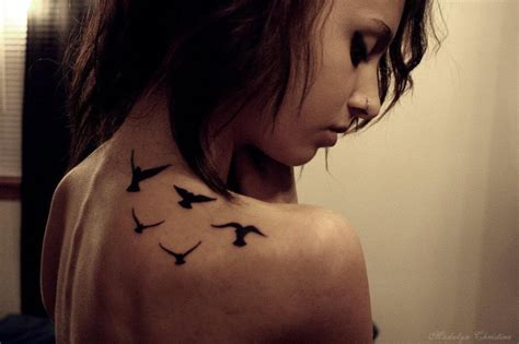 gallery bird tattoo shoulder blade