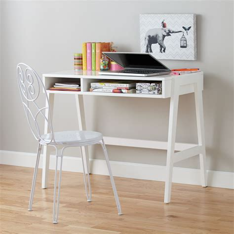 Kids Desks The Land Of Nod White Children Desk