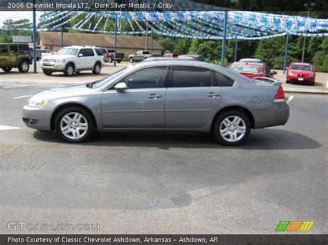 2006 silver impala silver metallic 2006 chevrolet impala ltz gray