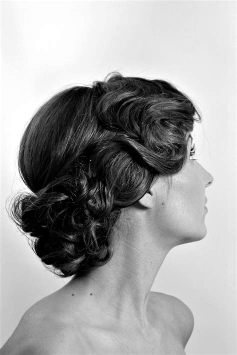 Vintage Wedding Hair Norwich by Amelia Garwood Wedding Hair Make Up Artist Norwich