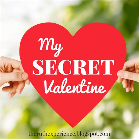 secret valentines the ruth experience my secret