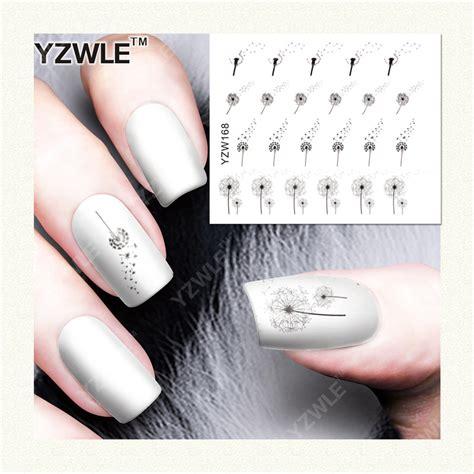 Water Decal Nail Ble2562 Yzwle 1 Sheet Diy Designer Water Transfer Nails