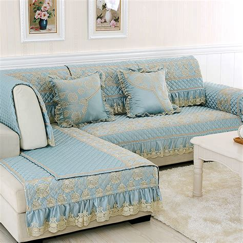 best sofa cover material luxury fabric sofa slipcovers lace fundas sofa cover set