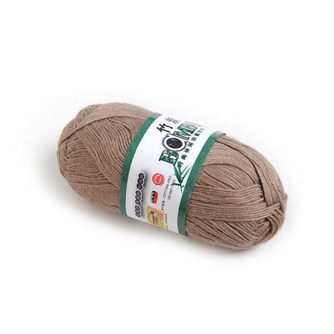 how to roll a of yarn for knitting 1 roll knitting yarn bamboo cotton skein 50g multi