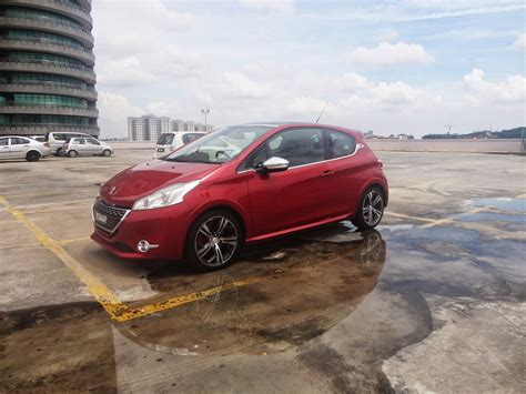 peugeot cars malaysia motoring malaysia tested peugeot 208 gti a car worthy