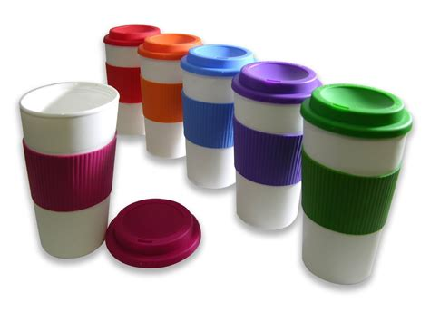 Amazon: Set of 6 Reusable To Go Travel Mugs with Grip {71% Off}   The Coupon Challenge