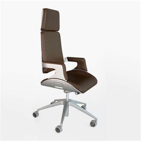 Silver Desk Chair by Interstuhl Silver 362s Office Chair 3d Model Max Obj Fbx