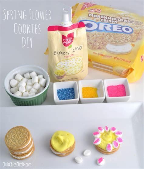 diy cookies easy flower decorated cookies