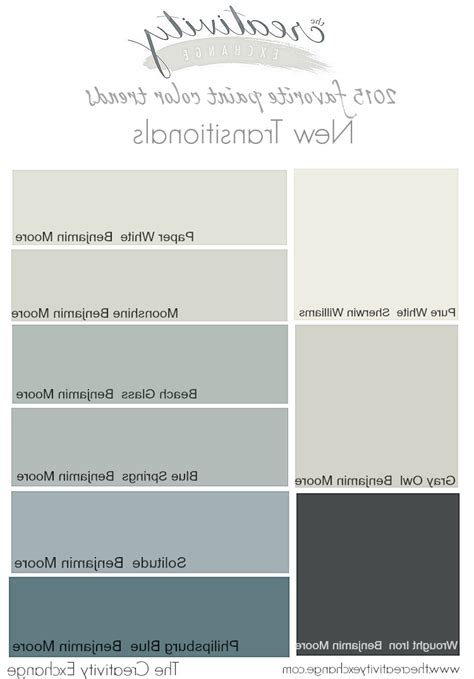 images of new paint color trends home combo