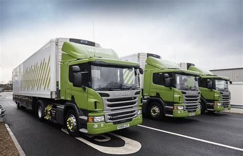 truck uk waitrose reveals cng truck fleet the engineer the