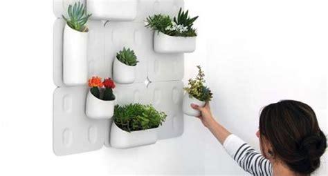 Wall Mounted Modular Flowerpots Urbio Vertical Garden Wall Mounted Garden Pots