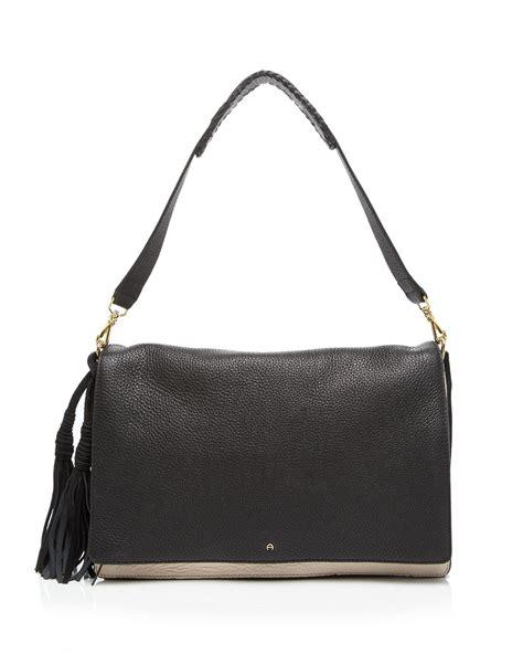 Aigner Shoulder Bag etienne aigner shoulder bag porter colorblock in black