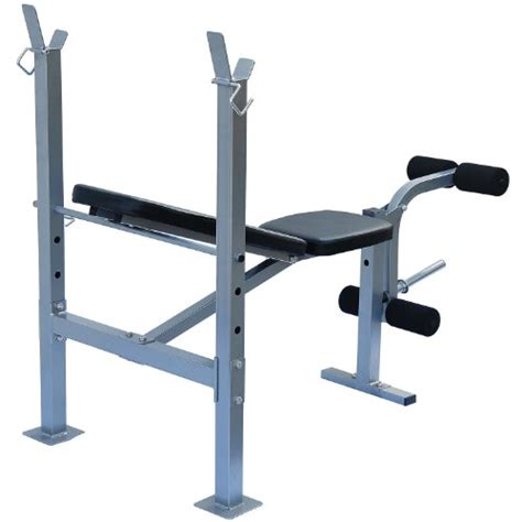 free weight bench soozier incline flat exercise free weight bench w leg