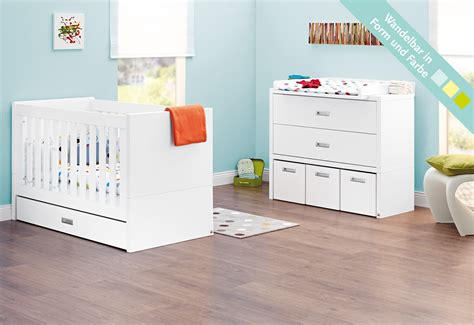 Lit Et Commode Bebe by Lit B 233 B 233 233 Volutif Et Commode 224 Langer Enzo Laqu 233 Blanc Mat