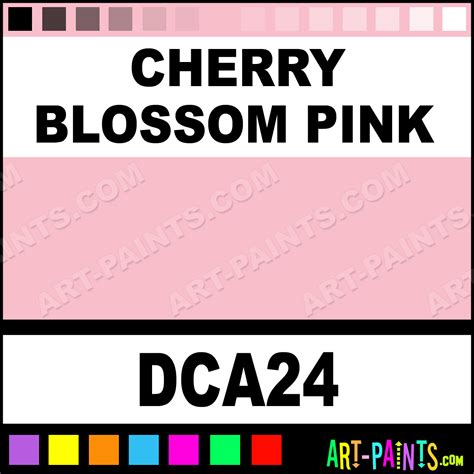 cherry blossom pink crafters acrylic paints dca24 cherry blossom pink paint cherry blossom