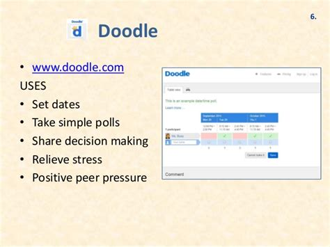 doodle decision poll top 25 tools for digital discipleship