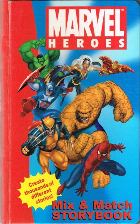 heroes storybook bible books spiderfan org comics marvel heroes mix match storybook