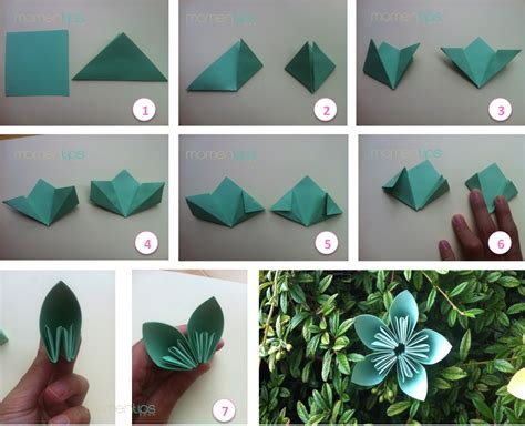 momentips diy 6 flores de papel