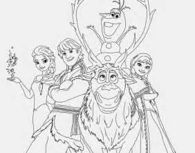 Disney frozen printable coloring pages disney coloring free frozen
