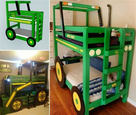 tractor bunk bed diy tractor bunk bed for boys