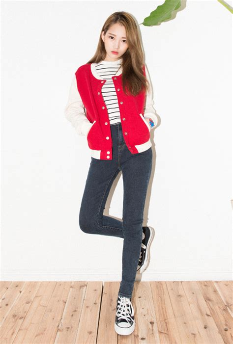 Jaket Bassic Varsity Pria mixxmix basic cotton varsity jacket kstylick korean fashion k pop styles