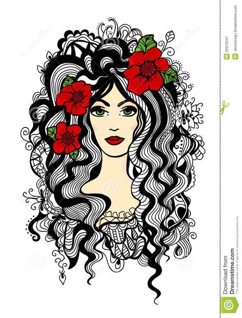 doodle flower vector illustration illustration royalty free stock photography image