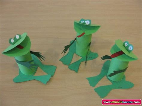 paper frog craft crafts actvities and worksheets for preschool toddler and