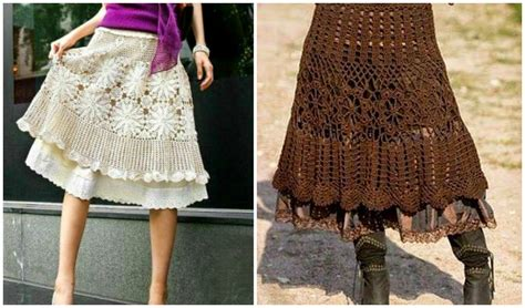 crochet skirt treasures 10 amazing crochet skirts free