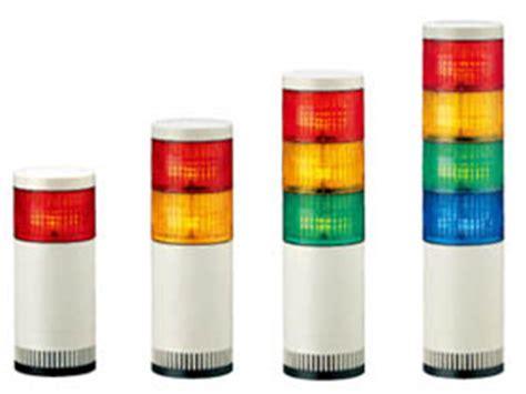 patlite tower light catalog lge 100mm modular products signal tower patlite