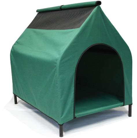 elevated dog house dog house elevated pet bed waterproof flea resistant kennel raised troline ebay