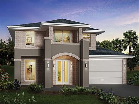 modern home plan two story house design modern design home modern house