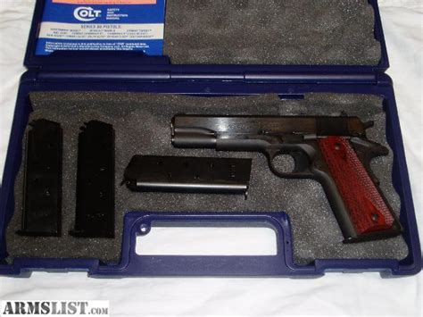 Dros Background Check Armslist For Sale Colt 1991 Govt 45 Acp